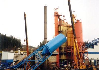 Resning av silo