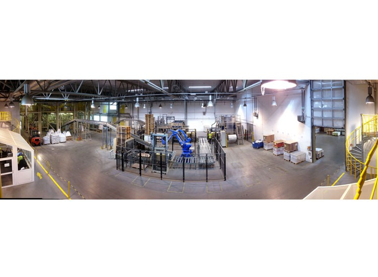 Torrbruksfabrik till Weber