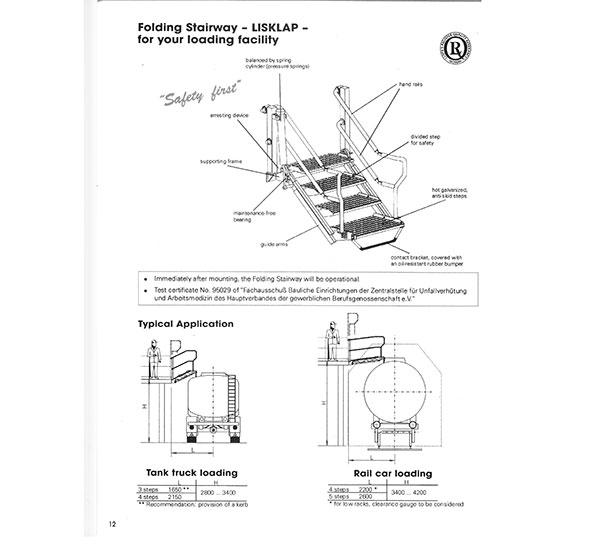 Stege för bulkbil