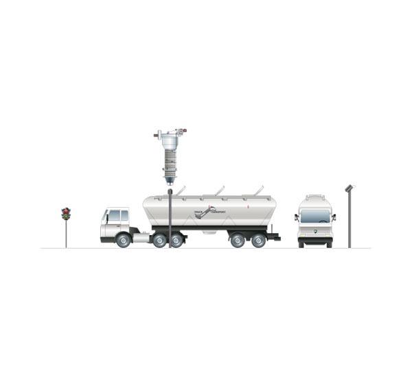 Positionssystem för bulkbil