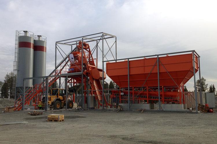 betongfabrik Gällivare