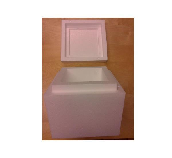 Testform kub i frigolit